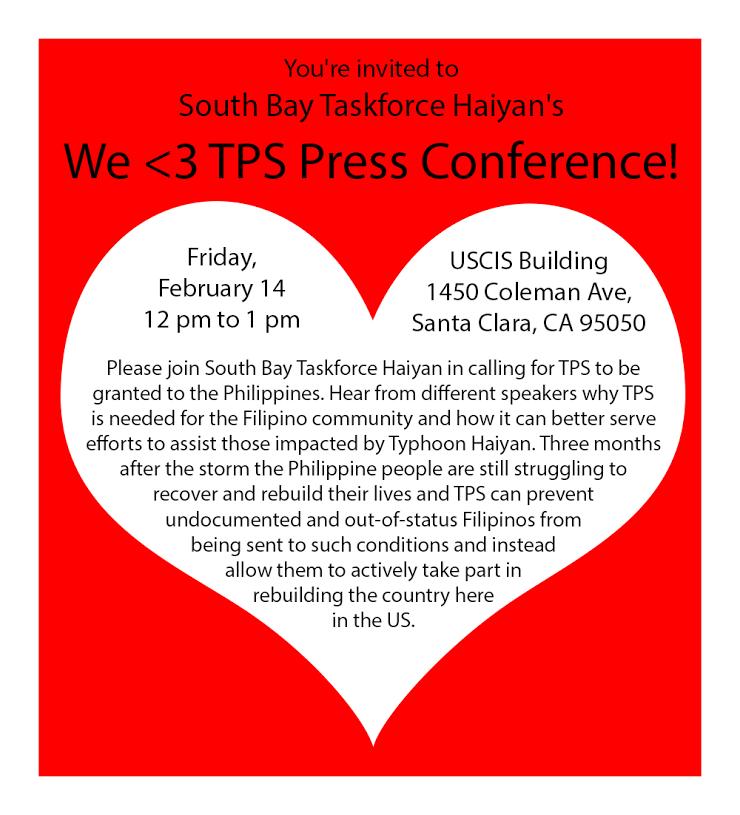 TPS Press Conference