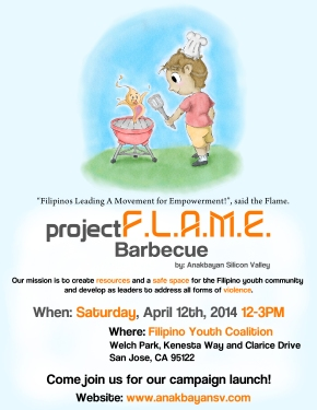 4/3: Upcoming Event- Project Flame BBQ Campaign Launch