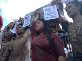 Anakbayan-USA Commemorates Haiyan Anniversary, Calls for BS Aquino'sOuster